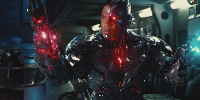 Justice League Star Reveals Cyborg Action Figure