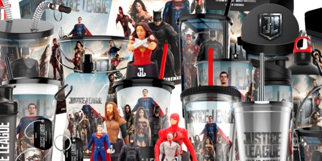 justice league theater merchandise