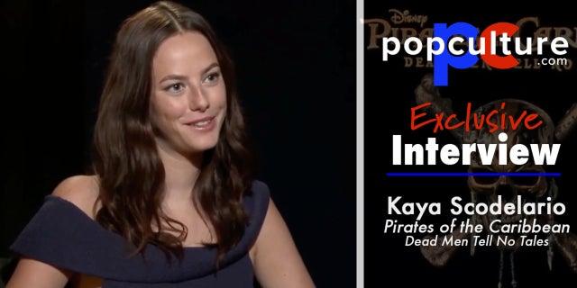 Kaya Scodelario Talks Pirates 5 screen capture