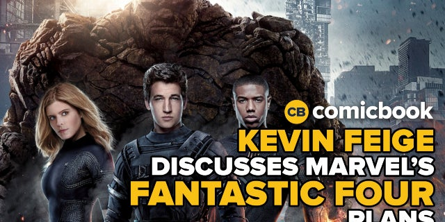 Kevin Feige Addresses MCU's Plans For Fantastic Four screen capture
