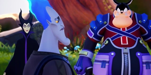Kingdom Hearts III Trailer screen capture