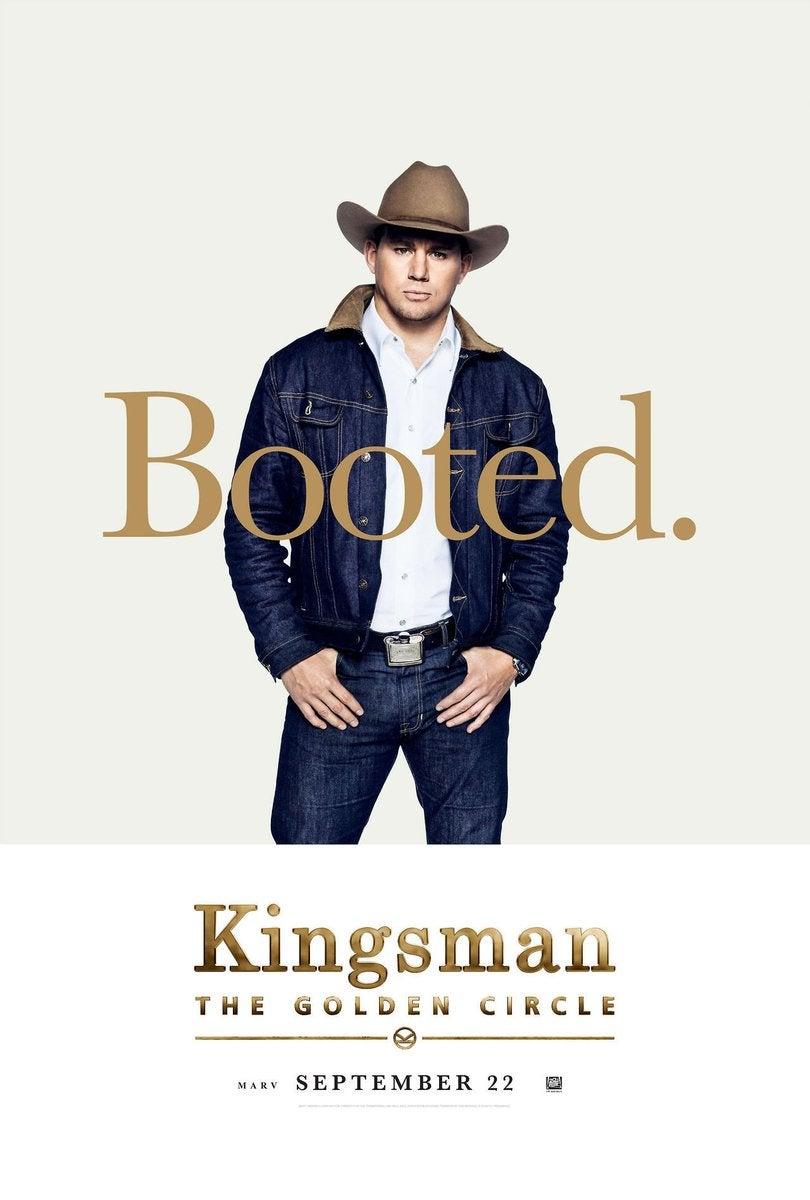 Kingsman 2 - Channing Tatum Poster