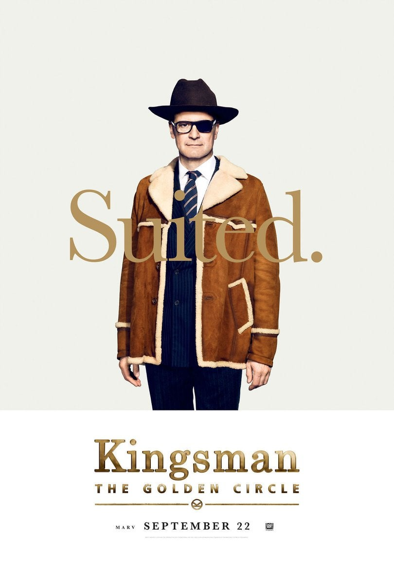 Kingsman 2 - Colin Firth Poster