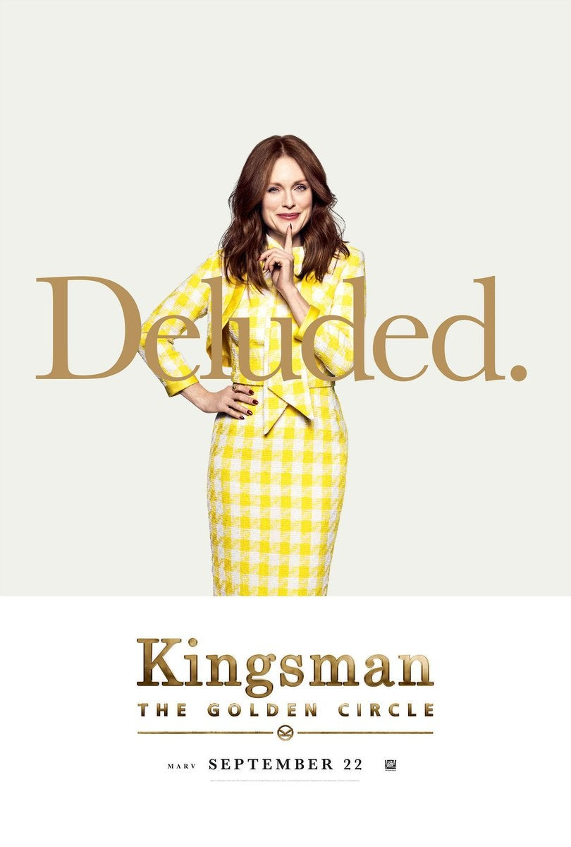Kingsman 2 - Julianne Moore Poster