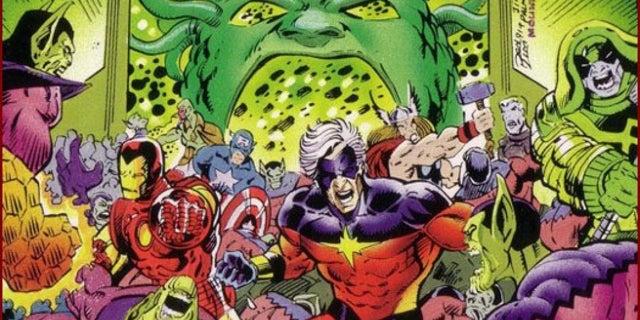 Kree Skrull War Captain Marvel