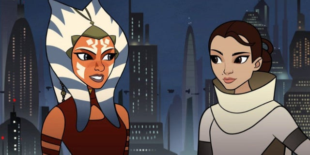 Latest Star Wars Forces Of Destiny Episode Reunites Ahsoka And Padme