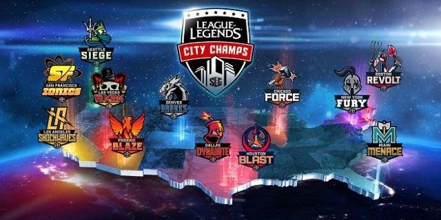 League of Legends City Champs