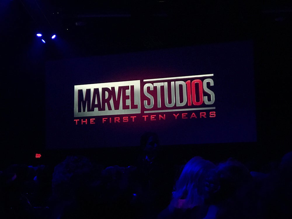 First look at the new marvel studios anniversary logo