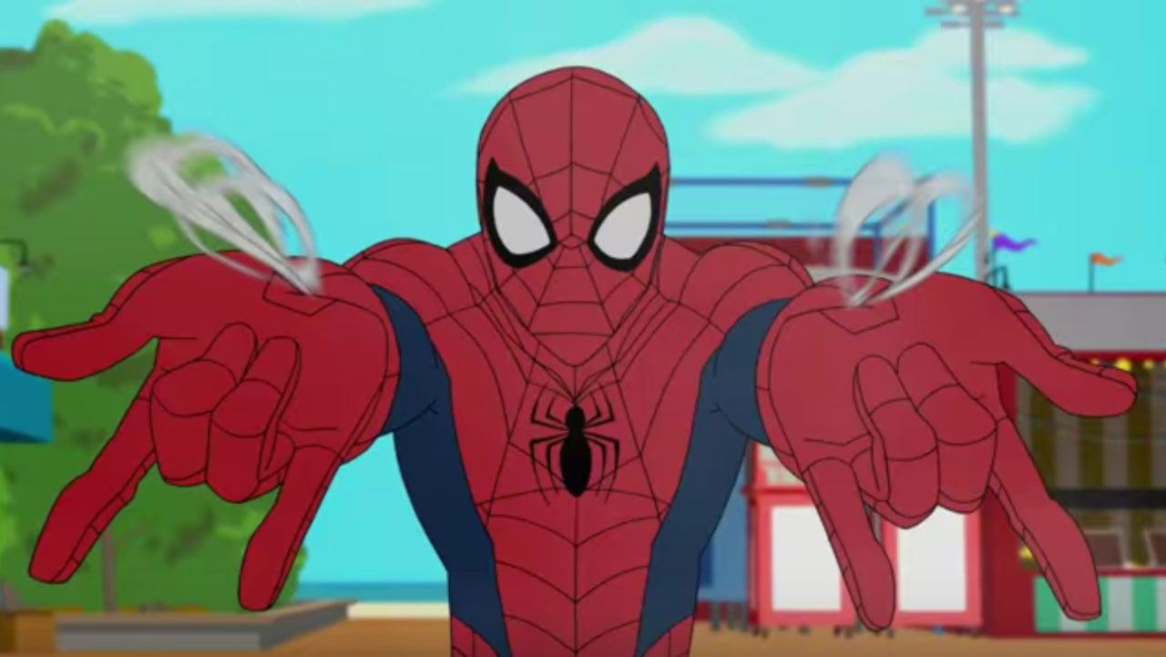 Znalezione obrazy dla zapytania spider man animated