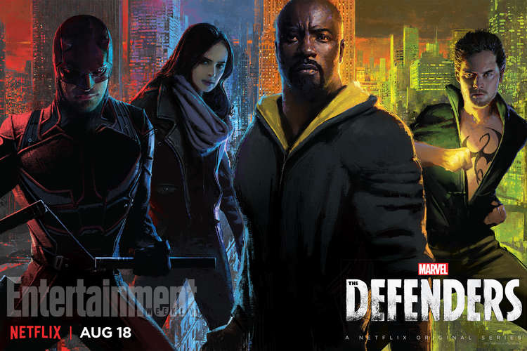 Netflix's DEFENDERS & PUNISHER Coming to SDCC With Exclusive Posters