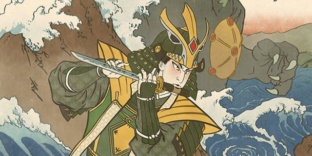 Mighty-Morphin-Power-Rangers-Ukiyoe-Samurai-Green-Ranger-Swade-Art-Header
