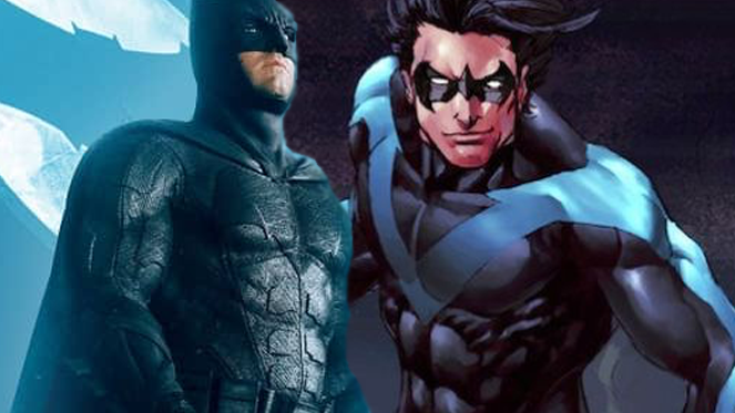 nightwing batman dceu
