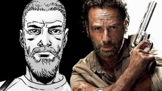 old man rick grimes the walking dead