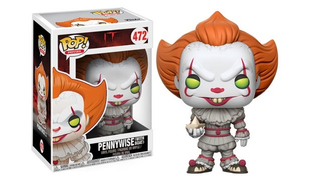 Pennywise From The It Reboot Is The Creepiest Funko Pop Figure