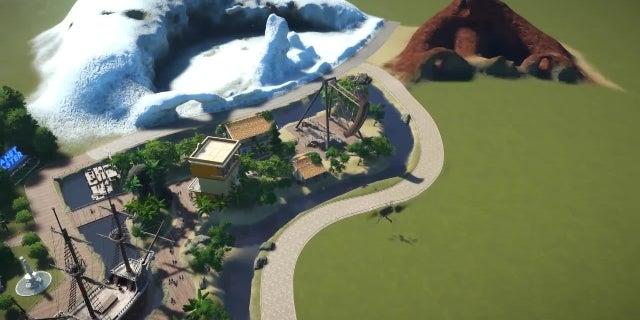Planet Coaster - Summer Update Trailer screen capture