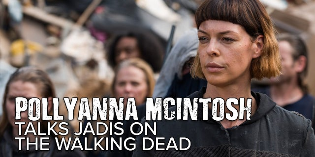 PollyAnna McIntosh On The Walking Dead's Jadis screen capture