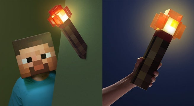 A portable minecraft redstone wall torch is useful in real life audiocablefo