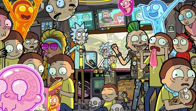 Rick and morty pokemon spin off pocket mortys gets multiplayer today episodic updates soon - Rick and morty download ...