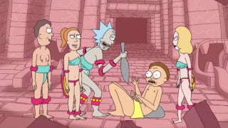 Rick And Morty Acid Trip Promo Exquisite Corpse Run The Jewels