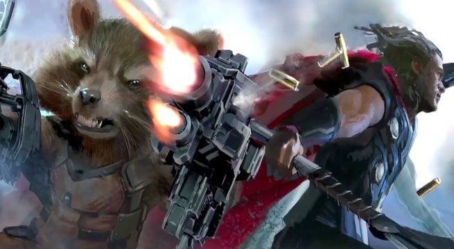 Rocket Raccoon Thor