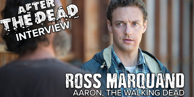 Ross Marquand Talks the Walking Dead screen capture