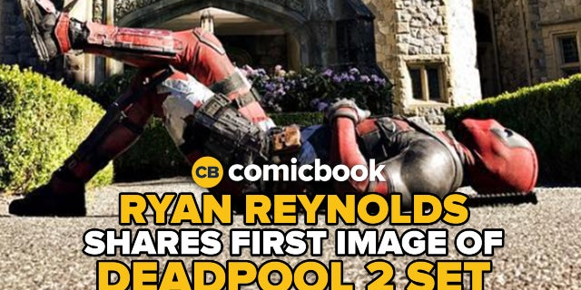 Ryan Reynolds Shares First Image From Deadpool 2 Set screen capture