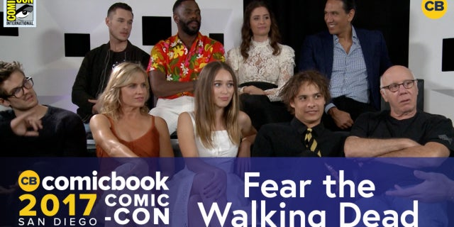SDCC Exclusive Interview: Fear The Walking Dead Cast screen capture