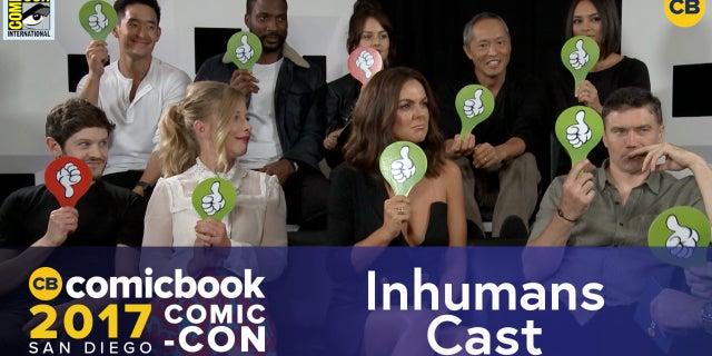 SDCC Exclusive Interview: Inhumans Cast screen capture