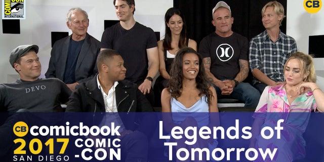SDCC Exclusive Interview: Legends of Tomorrow screen capture