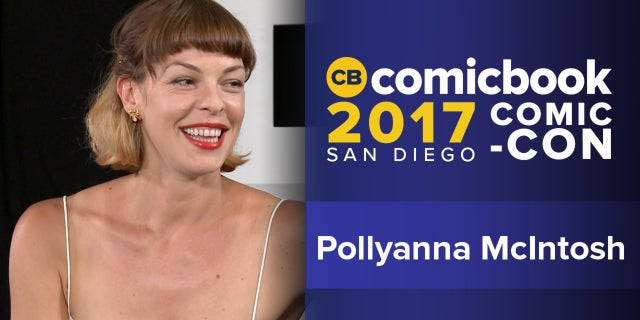 SDCC Exclusive Interview: Pollyanna McIntosh screen capture