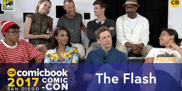 SDCC Exclusive Interview: The Flash Cast screen capture