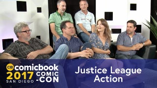 SDCC Interview: Justice League Action Cast (FULL) screen capture