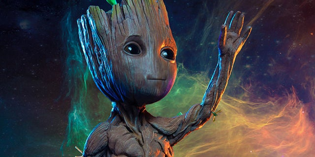 sideshow baby groot maquette