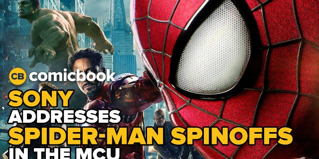 Sony Confirms Spider-Man Spinoffs Will Tie To MCU screen capture