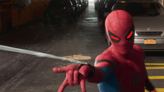 Spider man 39 s costume upgrades in spider man homecoming for How to stop spiders coming in your home