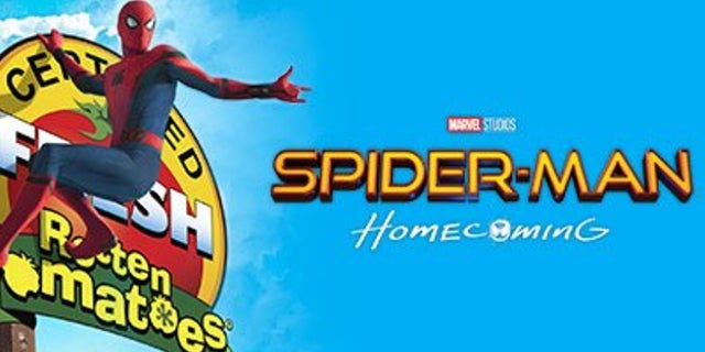 Spider-Man Homecoming Rotten Tomatoes