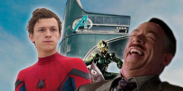 SpiderMan Avengers Tower
