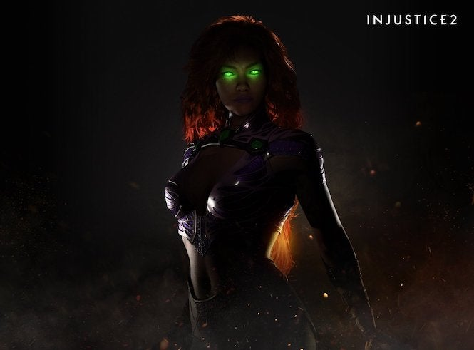 Starfire 'is gonna be a hot one' in Injustice 2