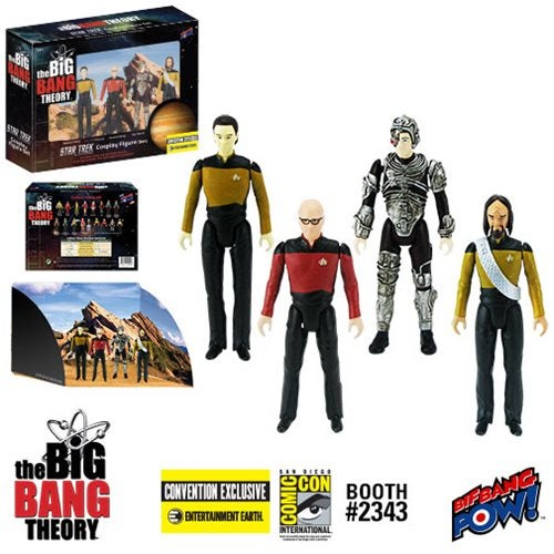 Star Trek The Next Generation Big Bang Theory