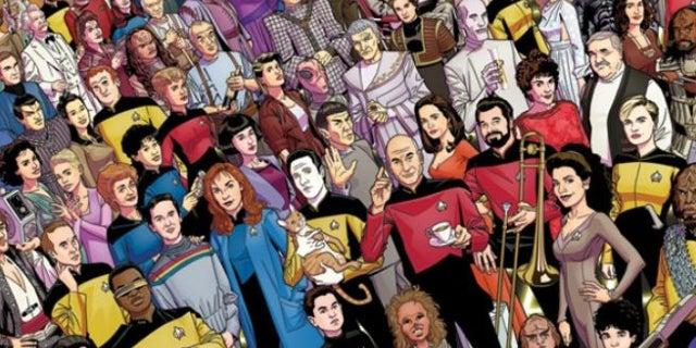 Star Trek TNG Anniversary Poster