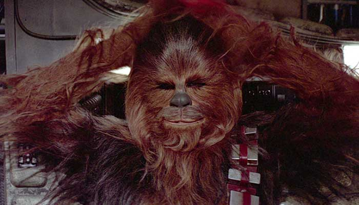 star wars best co-pilot chewbacca