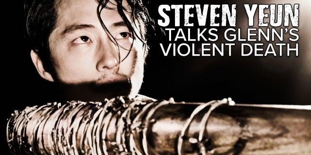 Steven Yeun Addresses The Violence Of Glenn's Death screen capture