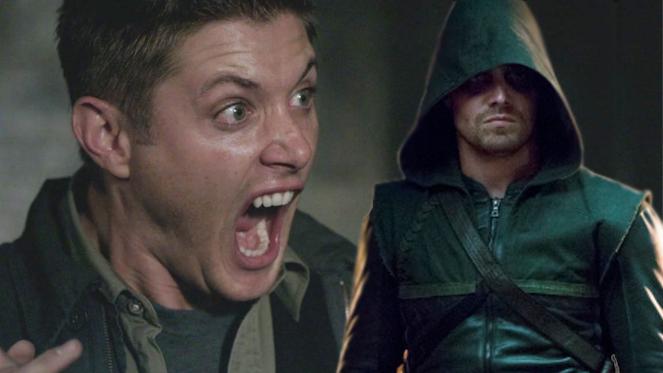 supernatural arrow crossover