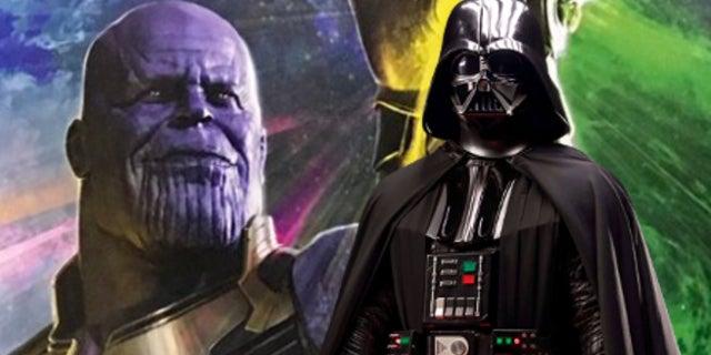 Thanos Darth Vader