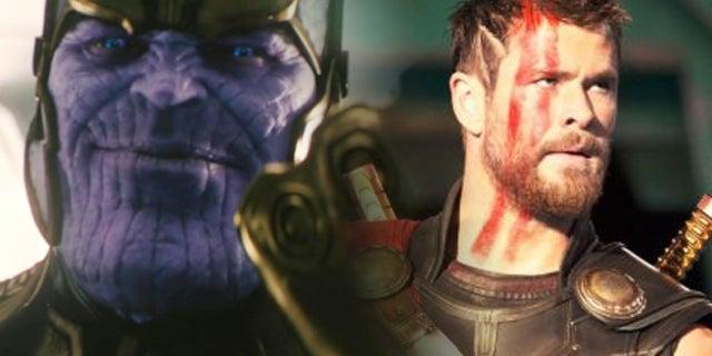 thanos thor avengers