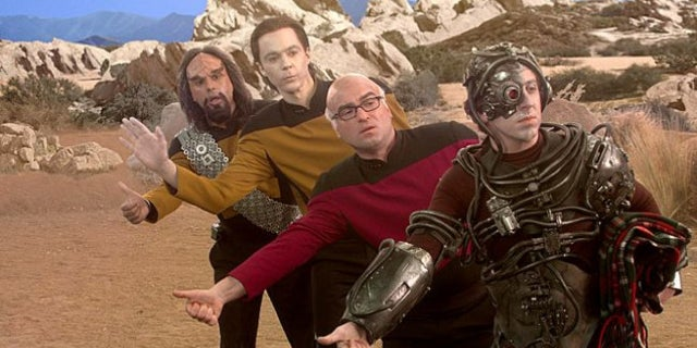 The Big Bang Theory Star Trek The Next Generation
