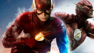 The Flash Grant Gustin New Costume Season 4