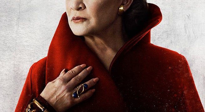 the last jedi character poster