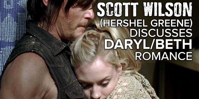 The Walking Dead - Hershel Approves Of Daryl And Beth Romance screen capture