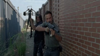 The Walking Dead Rick Grimes Daryl Dixon